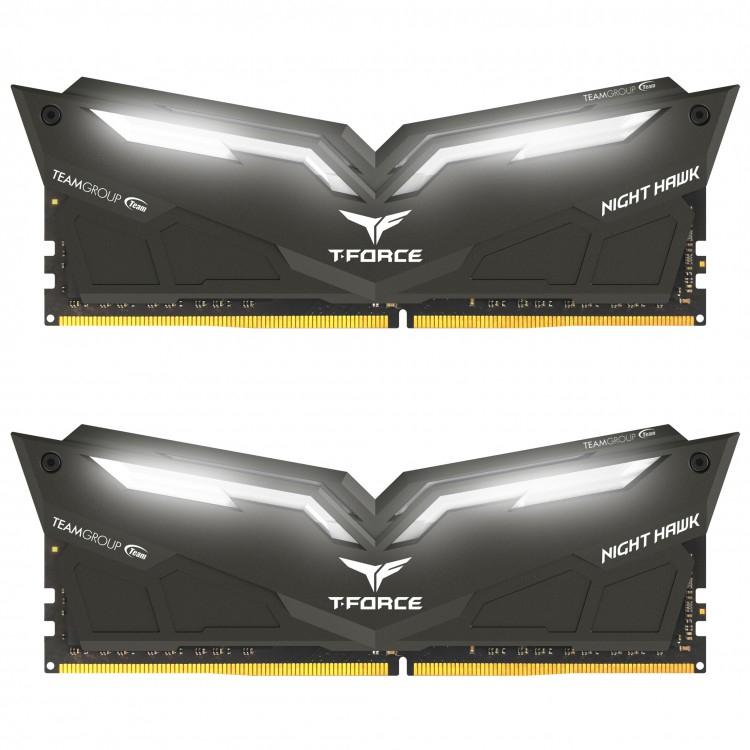 NIGHT HAWK LED 32GB (2X16GB) DDR4 RAM 3000MHZ DUAL CHANNEL KIT - £248.69 @ OCUK