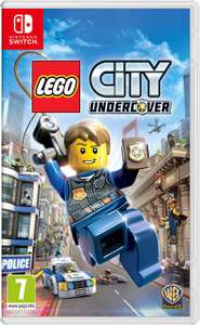 Lego City Undercover Nintendo Switch £24 @ Tesco Direct (free c+c/delivery)
