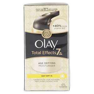 £6 each or two for £10 - Olay Total Effects 7-in-1 Day Moisturiser 50 ml @ Amazon Pantry