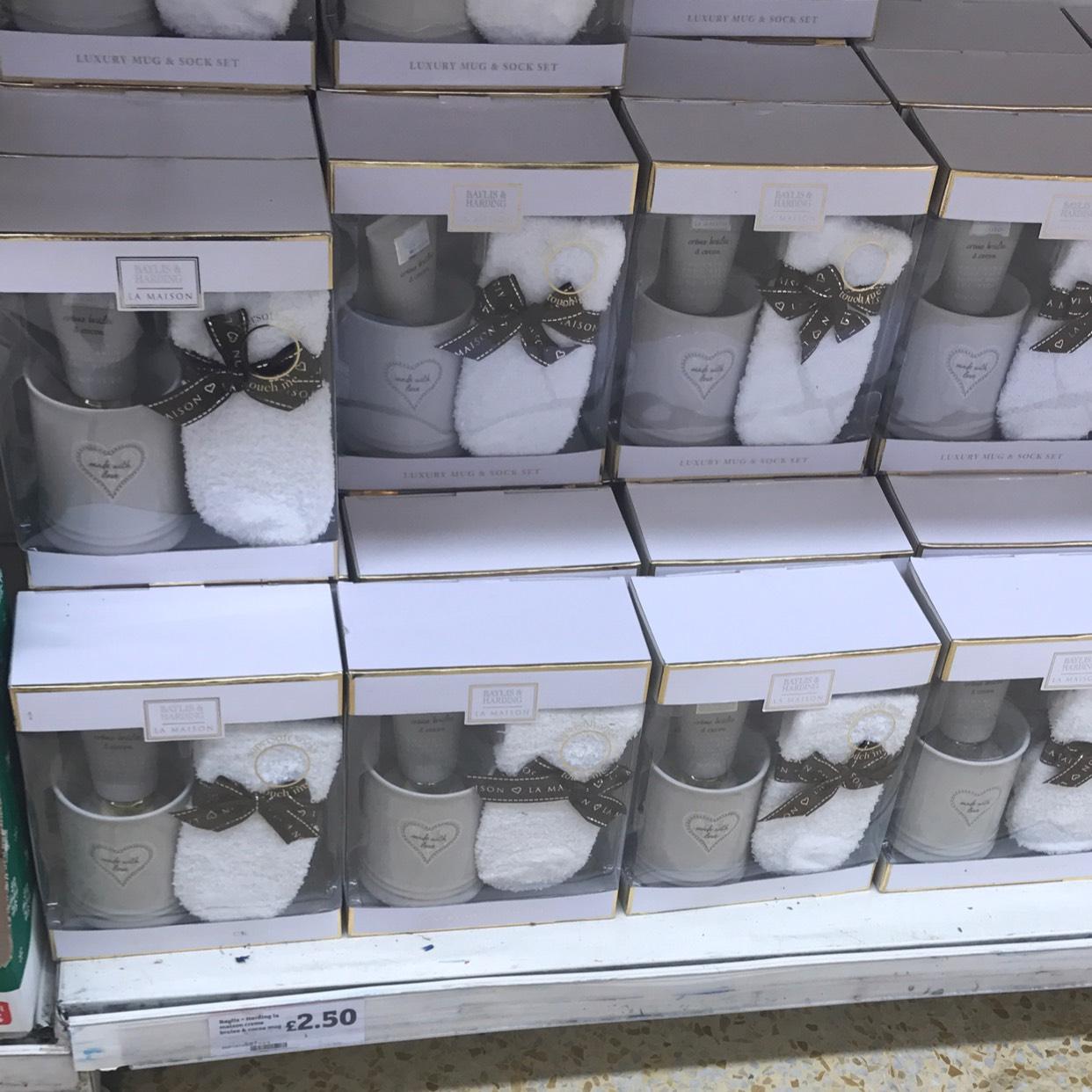 Baylis & Harding La Maison Luxury Mug & Sock gift set £2.50 @ Sainsbury's instore