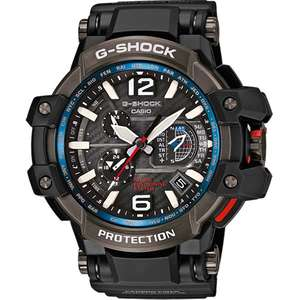 Casio Gravity Master Men's Black Ion-Plated Bracelet Watch, £355 from EJones with code