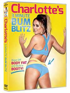 TWERK Charlotte's 3 Minute Bum Blitz [DVD] [2015] Work It - £7 Prime / £8.99 Non Prime @ Amazon
