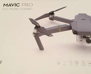 Dji Mavic pro fly more combo Drone - £1098 at Maplin