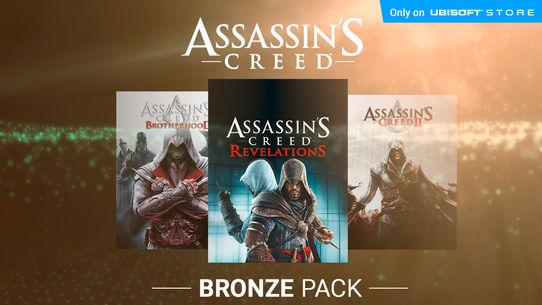 Assassin's Creed: Bronze Pack (AC2, Brotherhood & Revelations) - Ubisoft Store - £9.99 (PC Download)