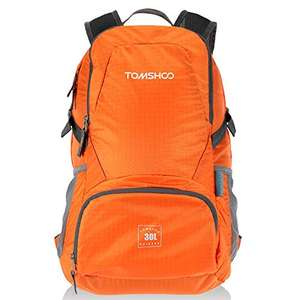 TOMSHOO 30L Foldable Backpack (various colours) - Just £8.24 Sold by TOMSHOP. and Fulfilled by Amazon