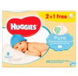 Huggies Baby Wipes Pure 168 Wipes - £2 @ Iceland