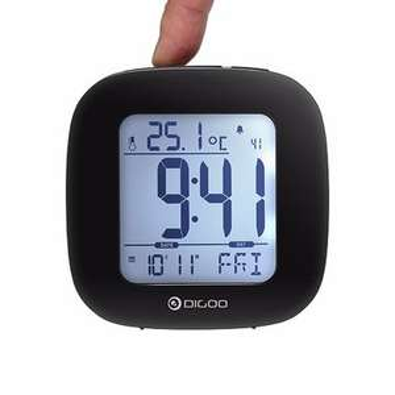 Digoo DG-C1 Multi-functional Digital Alarm Clock with Temperature & backlight - £3.23 delivered @ Banggood