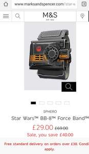 Star Wars™ BB-8™ Force Band £29 with free C&C @ Marks and spencer
