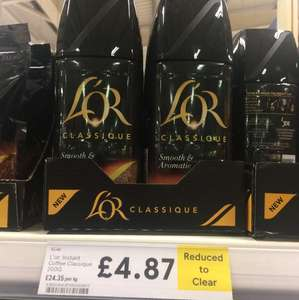LOR classque coffee £4.87 @ Tesco - Greenfield