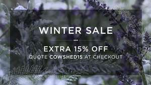 Extra 15% off All Products @ Cowshed Online Spa with Voucher Code