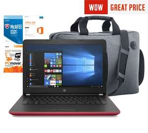 "HP 14"" laptop bundle £319.99 @ Argos"