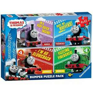 Ravensburger Thomas & Friends 4 x 42 piece jigsaw  *INSTORE* Debenhams £5.40