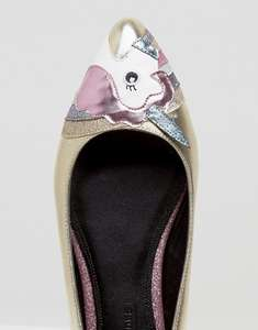 LOOPY LOU! Unicorn Ballet Flats (was £25) Now £11.00 at ASOS ( £14 delivered / Free delivery on £20 spend)