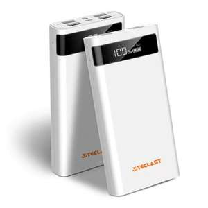 Teclast T200CE 20000mAh Charger 4 Output 8 Pin Micro USB £13.61 Delivered with code @ Gearbest