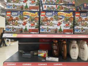 2016 Lego Advent Calendars in Tesco Extra Exeter £11.87 / £12.50