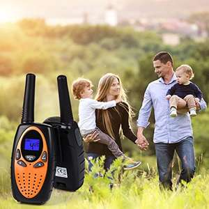 Lightning deal- Kids Toys Wireless 0.5W PMR446 Long Distance Range Walkie Talkie for £16.14 prime / £20.13 non prime @ Sold by Eglobal Online and Fulfilled by Amazon.