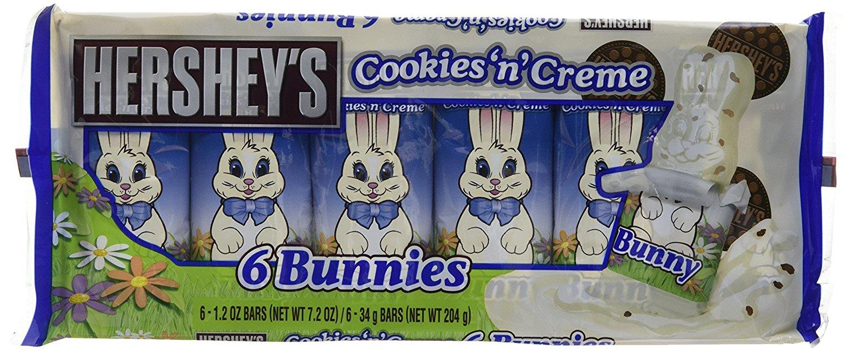 Hershey's Cookies n Crème Bunnies (6 Pack) - £1.00 - B&M