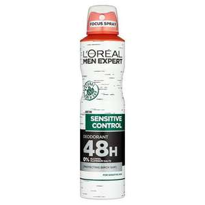 L'Oreal Men Expert Hydra Sensitive Deodorant 250ml - 75p instore @ Wilko