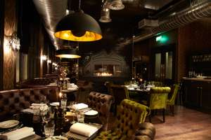 One Night Stay + Two course meal + Bottle of Wine in room from just £44.50pp @ Malmaison