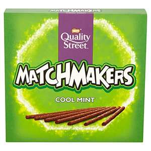 Quality Street Cool Mint Matchmakers, 130g (Pack of 10) £5 @ Amazon - Add on item