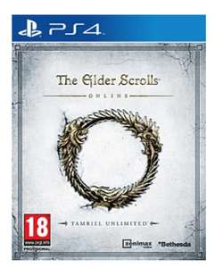 The Elder Scrolls Online: Tamriel Unlimited - PS4 - Pre Owned £3.74 @ Game.co.uk