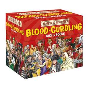 Horrible histories 20 book box set @ the works.co.uk £20. ADD discount code then just £16
