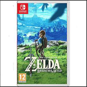 Zelda: Breath of the Wild (Pre-owned Switch) £37.50 @ Game Instore