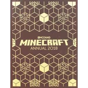 Mojang minecraft 2018 annual reduced to £1-50 online @ theworks.co.uk