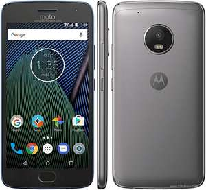 "Moto G5 Plus 3GB/32GB, 5.2"" FULL HD, FP, QC, NFC, unlocked incl.£10 topup @ Carphonewarehouse"