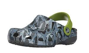 Kids camo/green Crocs - various sizes from £6.00 prime / £9.99 non prime at Amazon
