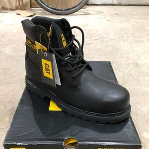 Caterpillar Cat Men's Steel Toe Cap Holton Boots in Black was £60 now £25 @ Homebase instore