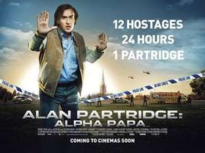 LAST CHANCE TONIGHT 27/01/18!   Free - Alan Partridge film - Alpha Papa @BBC iPlayer