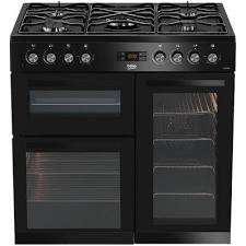 Beko KDVF90K 90cm Dual Fuel Range Cooker in Black £459 with code at co-op electrical