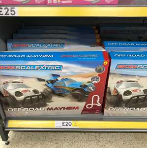 Micro Scalextric Off-Road Mayhem £20 in store @ Tesco (St Rollox)