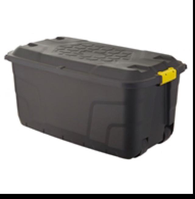 Strata 145L Heavy Duty Storage Trunk ( Box ) on wheels £12.98 @ Homebase