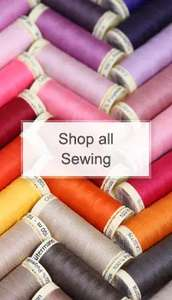 Hobbycraft sewing event now on, half price Gutermann threads!