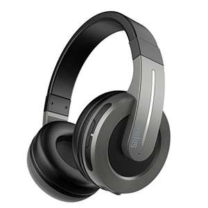 Lightning Deal! Sephia S6 Over Ear Wireless Bluetooth Headphones - Only £13.99 Prime, Sold by Sephia and Fulfilled by Amazon