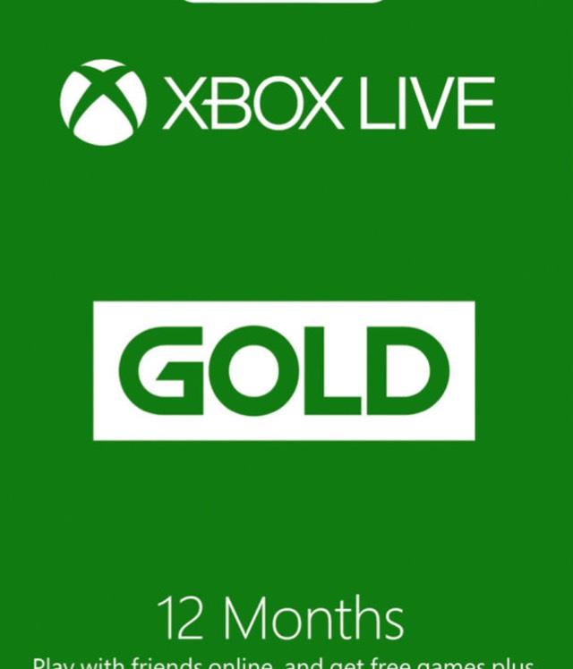 Xbox live 12 months £39.85 @ Amazon