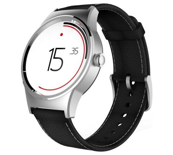 TCL Wi- Fi Smart Watch - Black / Silver @ Argos £95.95