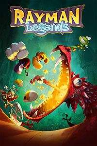Rayman Legends Xbox one gold membership price £6 @MSStore