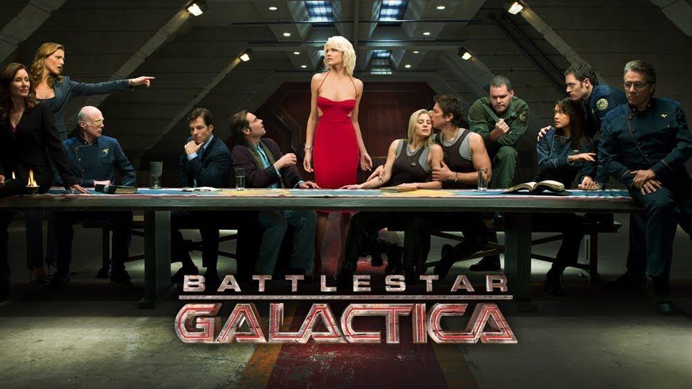 Battlestar Galactica - Complete series HD £15.99 Google play