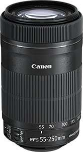 Canon EF-S 55-250 mm f/4-5.6 IS STM Lens £147.88 @ Amazon