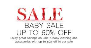 M & S - UP TO 60% OFF BABY SALE! REDUCTIONS ADDED!