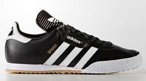 Adidas super samba all sizes £35.25 (plus postage or click n collect) at adidas with code extra20 (indoor super also £33.93)