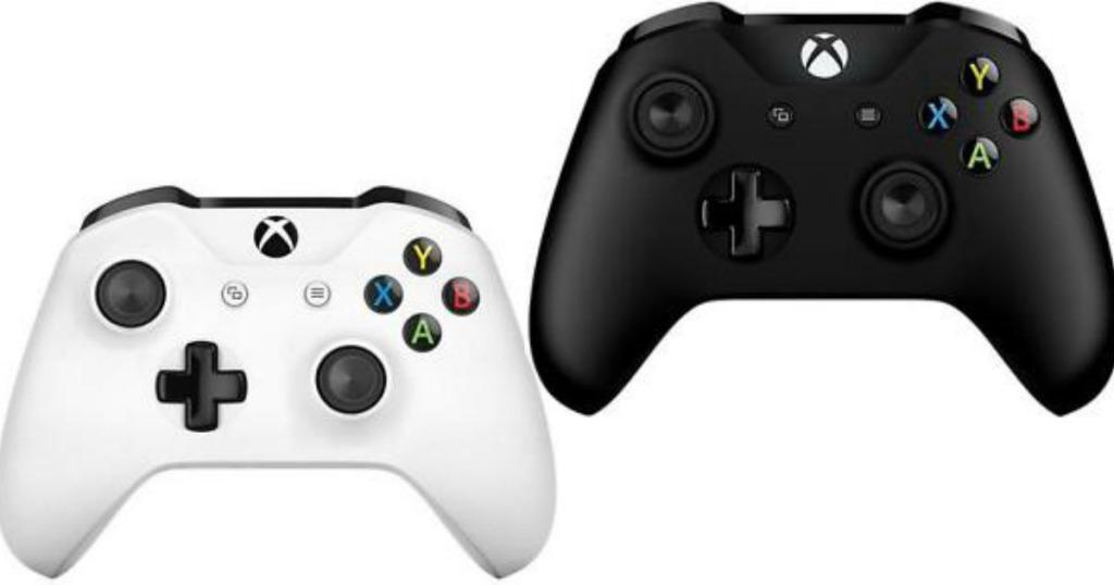 Official Xbox One Wireless Controller White / Black £34.99 Free C&C @ Argos & Amazon