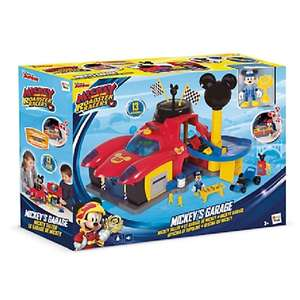 Mickey and the Roadster Racers Garage £14.99 (plus £3.95 delivery)  Disney Store