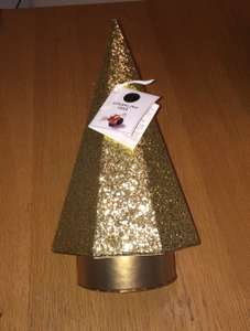 Was £15 now £3.25 Marks and spencer sparkling Christmas tree (filled with chocolate caramels)