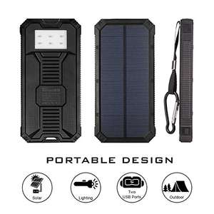 Solar Charged Power Bank £9.99 (Prime) / £13.98 (non Prime) Sold by Wollhuuse-UK and Fulfilled by Amazon.