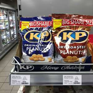 KP peanuts big share 450g - 63p at the co op instore