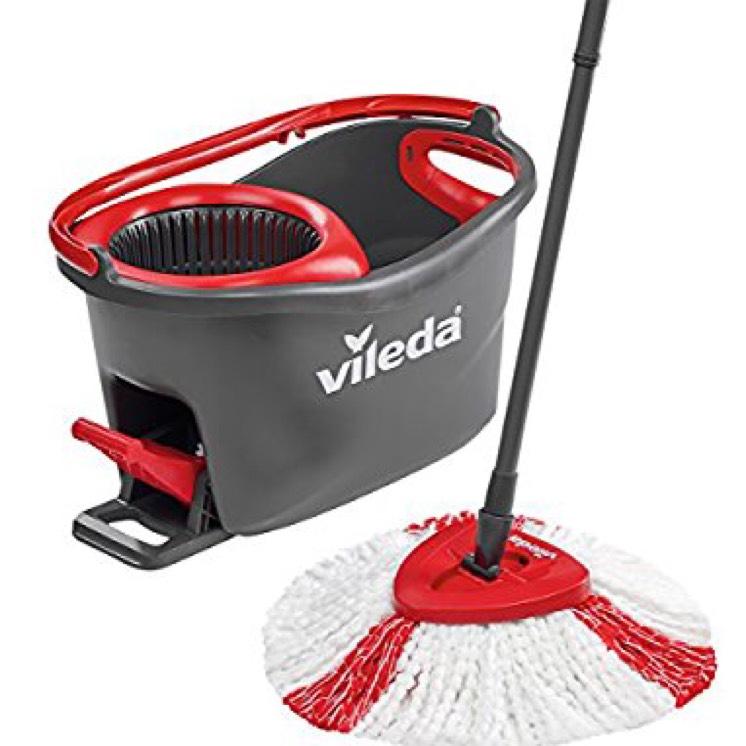 Vileda Easy Wring and Clean Turbo Microfibre Mop and Bucket Set - £22 @ Amazon - Prime Exclusive